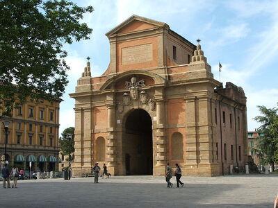 Bekijk bologna 39 s middeleeuwse poorten - Piazza di porta saragozza bologna ...
